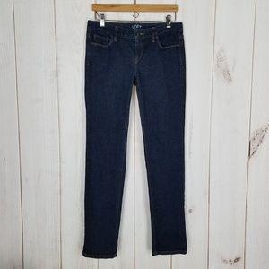 Ann Taylor LOFT | Modern Straight Blue Jeans - 6